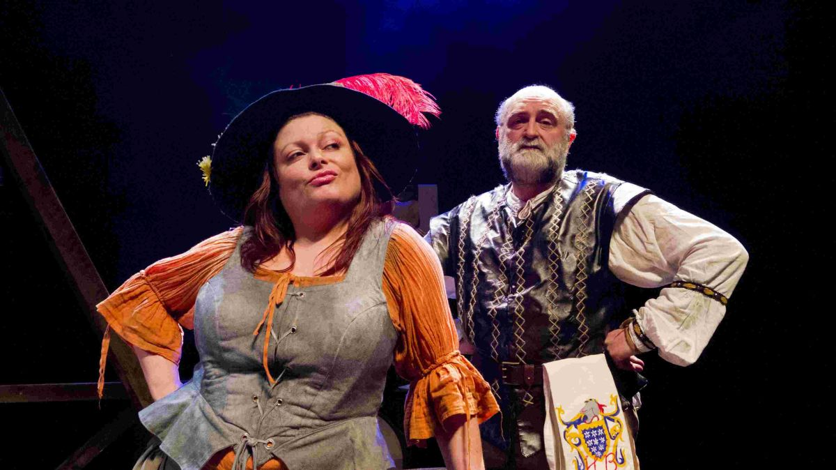 Rosalind Blessed and Tom Daplyn in Canterbury Tales