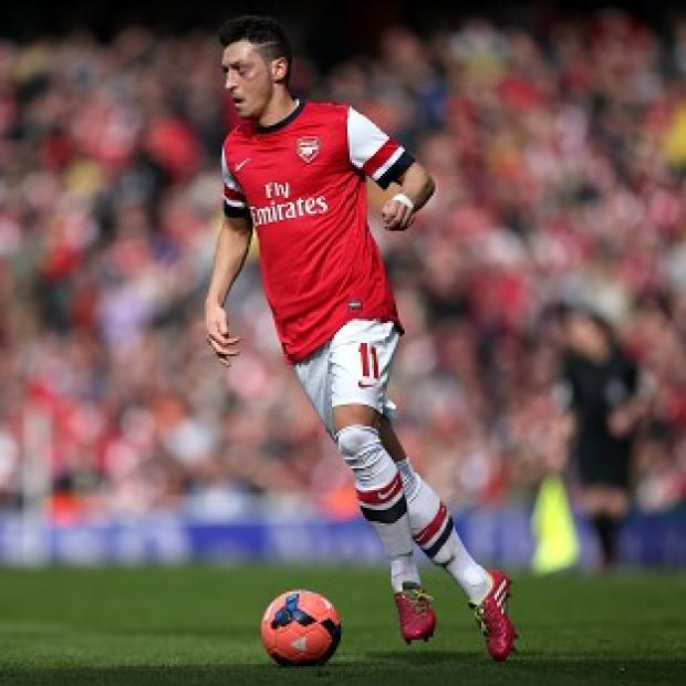 Salisbury Journal: Mesut Ozil injured a hamstring during Arsenal's 1-1 draw against Bayern Munich on Tuesday