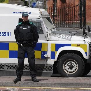 Salisbury Journal: An explosive device was thrown at a police vehicle in west Belfast