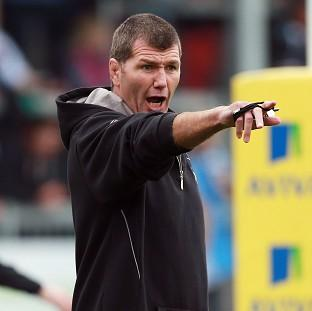 Rob Baxter led Exeter to a 15-8 victory over Northampton in the LV= Cup final
