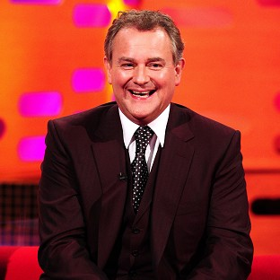 Hugh Bonneville says you have to laugh at the BBC's complicated security system