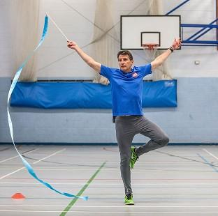 Salisbury Journal:  Lord Coe is doing rhythmic gymnastics for Sport Relief