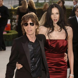 Jagger's grief over lover's death
