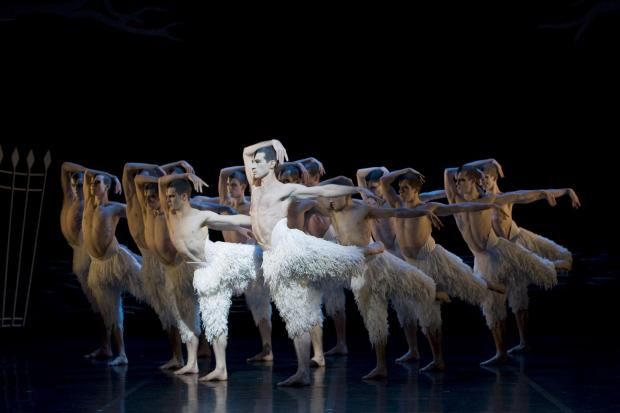 Matthew Bourne's Swan Lake at the Mayflower