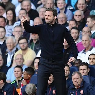 Tim Sherwood felt his side should have had a penalty