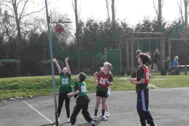 Winter sports at Dinton Primary