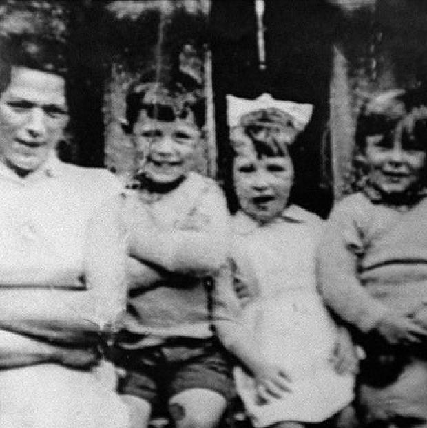 Salisbury Journal: Jean McConville (left) with three of her children before she vanished in 1972