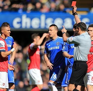 Ref blunder as Gunners hit for six