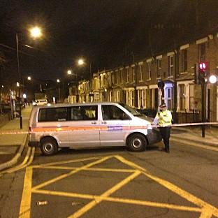 Salisbury Journal: Police at the scene in Hackney, east London, where a teenage girl has been shot