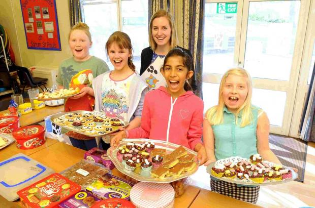 Sarum St Paul's children raise money for Save a Cow