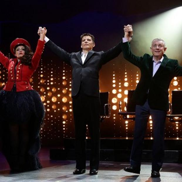 Salisbury Journal: Victoria Elliott, Nigel Harman and Ashley Knight star in The X Factor musical I Can't Sing!