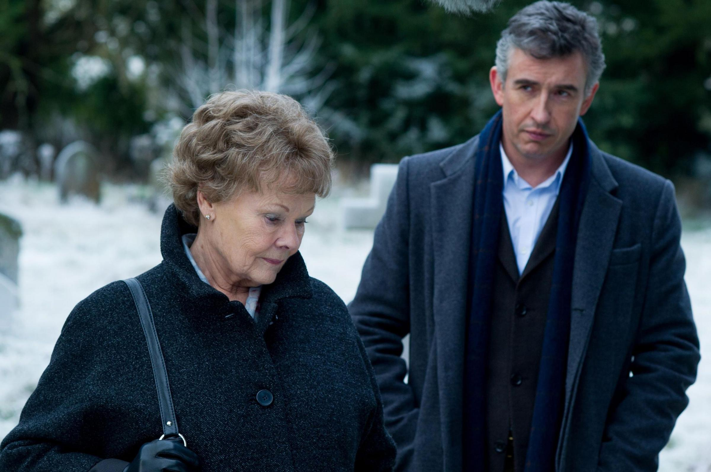 Steve Coogan and Judi Dench in Philomena. Picture by Picture: PA Photo/Twentieth Century Fox Home Entertainment One.