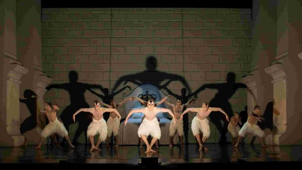 Matthew Bourne's Swan Lake. Picture: Helen Maybanks