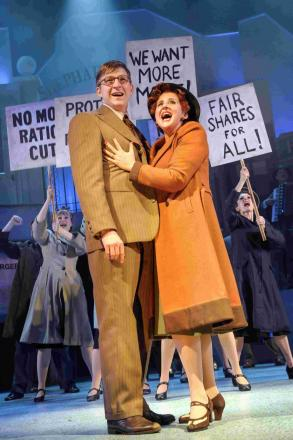 Betty Blue Eyes brings fun and farce to Playhouse