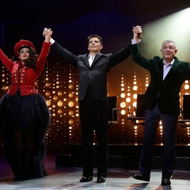 Salisbury Journal: Nigel Harman's performance as Simon Cowell in The X Factor musical I Can't Sing! has won rave reviews
