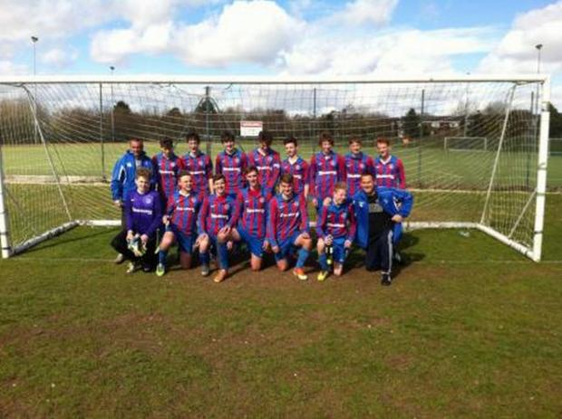 Amesbury under 16s capture championship with resounding win