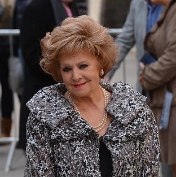 Salisbury Journal: Barbara Knox plays Rita Tanner in Coronation Street