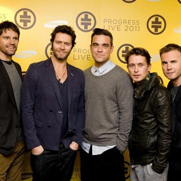 Salisbury Journal: Robbie Williams has until May to decide whether he will rejoin Take That