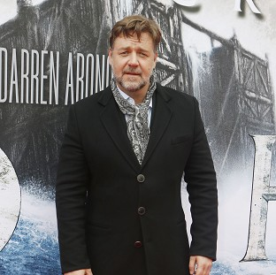 Russell Crowe attends the premiere of Noah at the Film House in Edinburgh