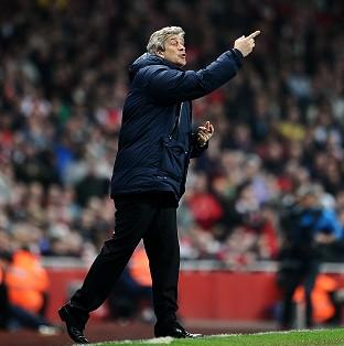 Manuel Pellegrini was content with his side's 1-1 draw at Arsenal