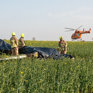Two killed in light aircraft crash