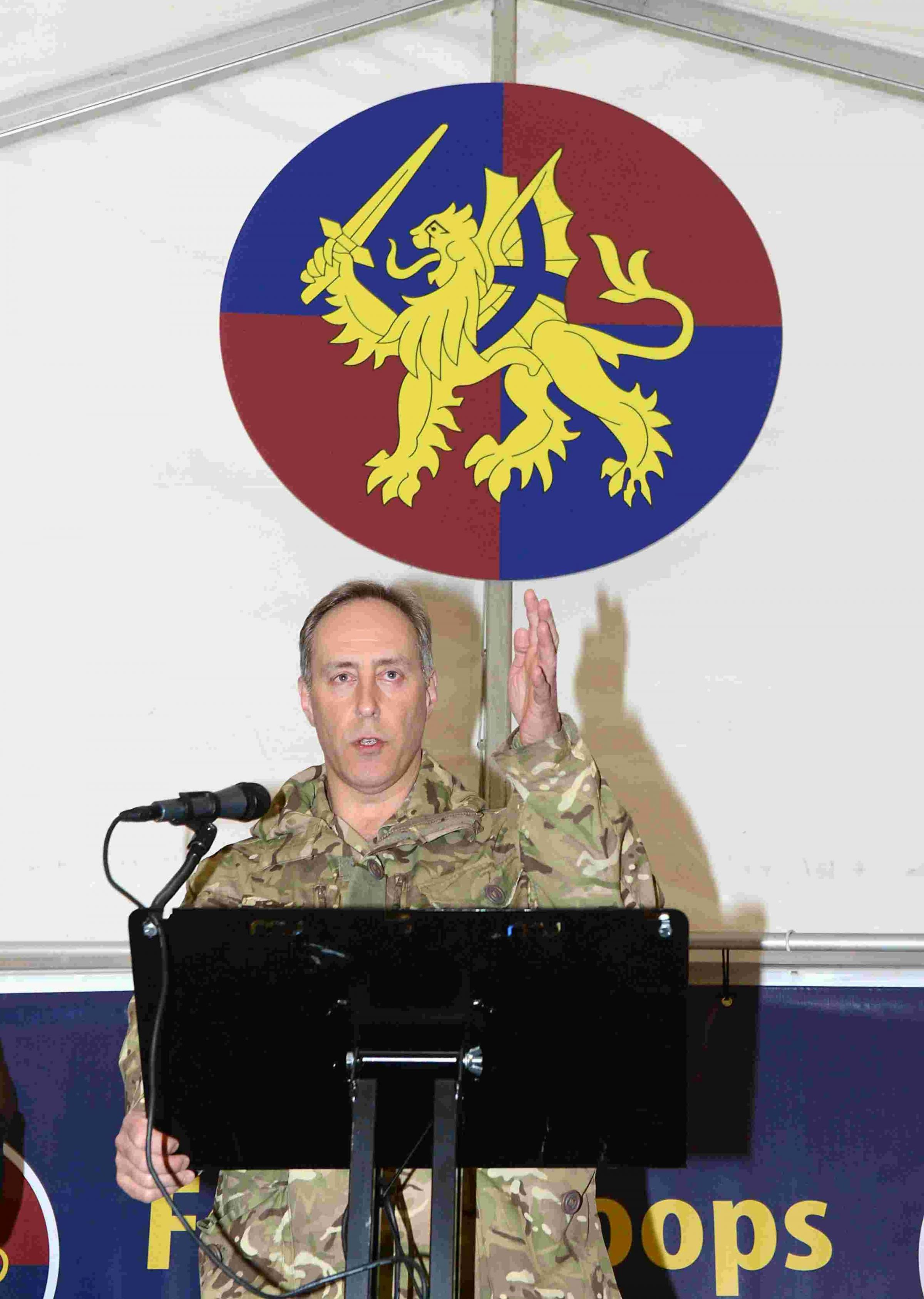 Major General Tim Radford