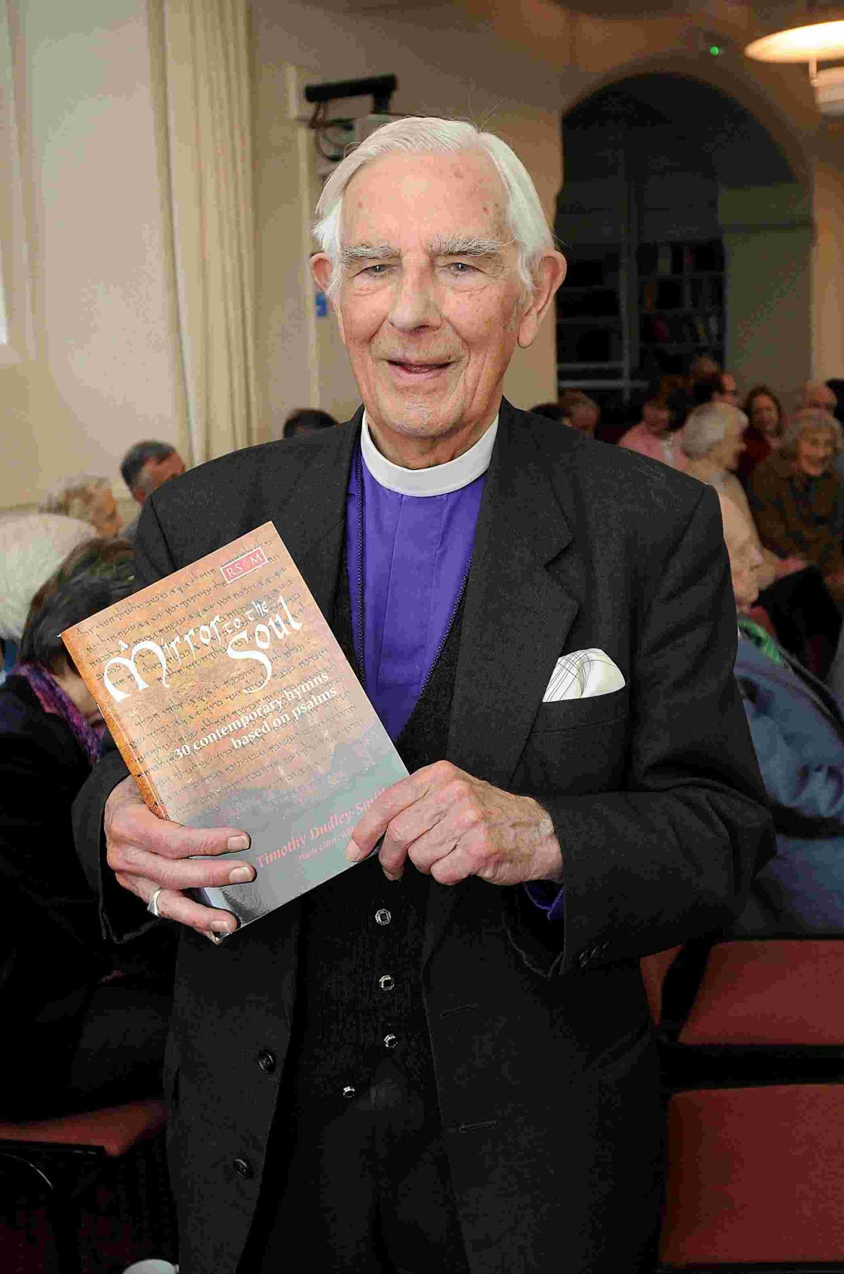 Vicar writes hymn book