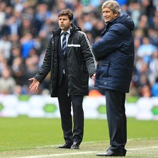 Mauricio Pochettino, left, was disappointed that two key decisions went against his side