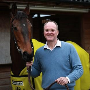 Trainer Dr Richard Newland and Pineau De Re
