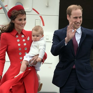 George goes on royal crawl-about