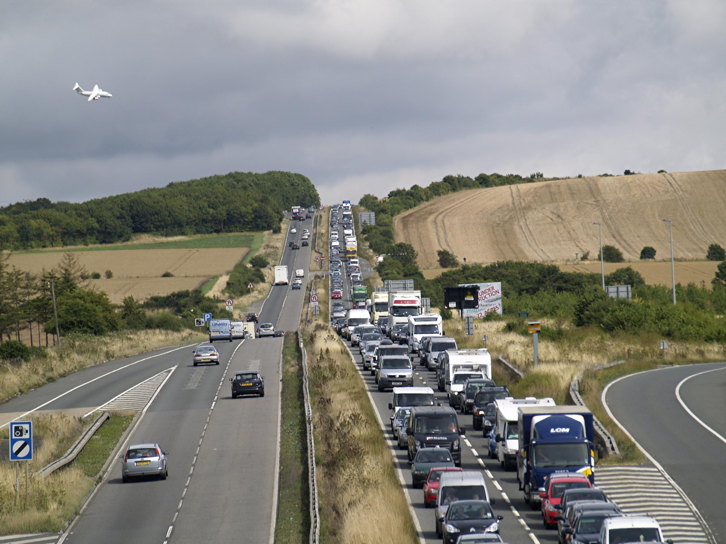 Traffic on the A303