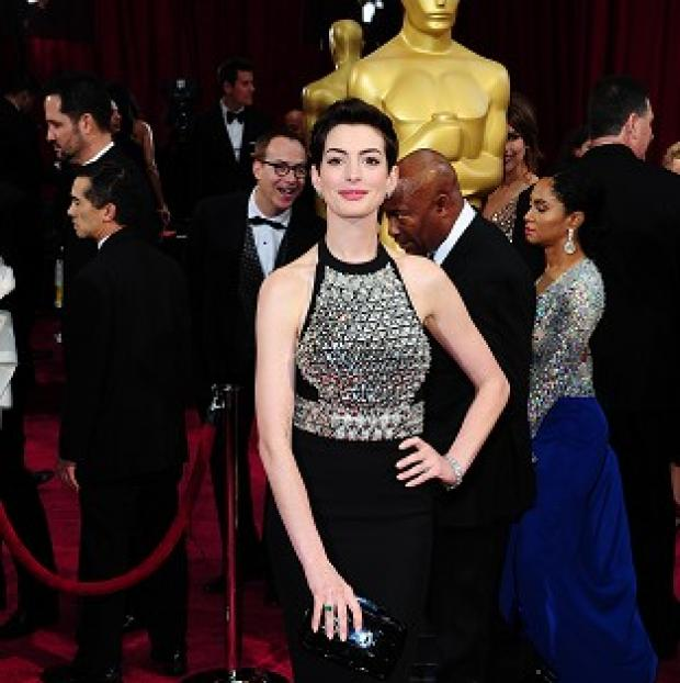 Salisbury Journal: Anne Hathaway took a secret stash of booze to the Oscars