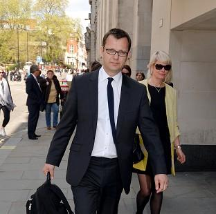 Former News of the World editor Andy Coulso