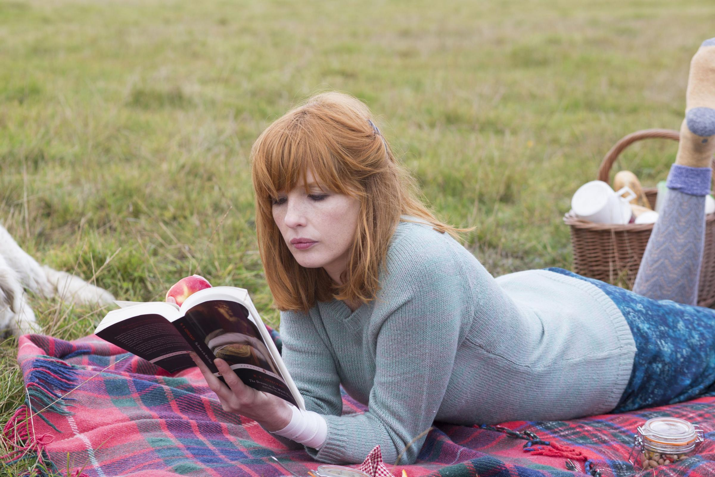 Kelly Reilly, who plays a priest's daughter in Calvary. Picture: PA Photo/UPI Media