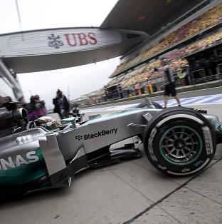 Lewis Hamilton had expressed concern about his car (AP)