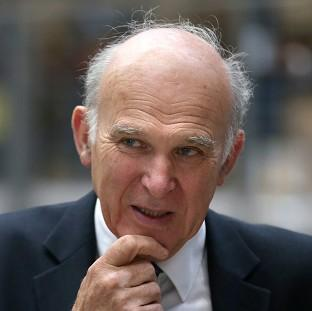 Business Secretary Vince Cable is proposing moves