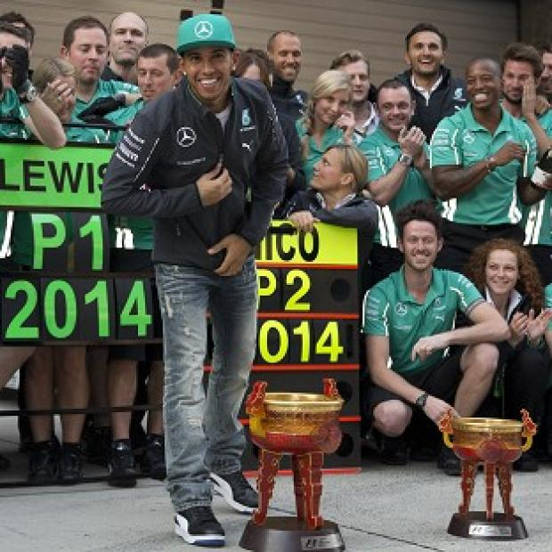 Salisbury Journal: Niki Lauda has described Lewis Hamilton's performance in China as 'outstanding' (AP)