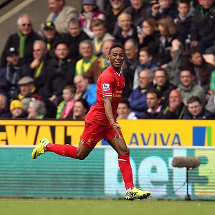 Raheem Sterling was Liverpool's key man in their latest victory