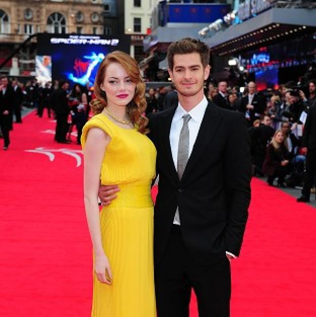 Salisbury Journal: Couple Emma Stone and Andrew Garfield star in The Amazing Spider-Man 2 together