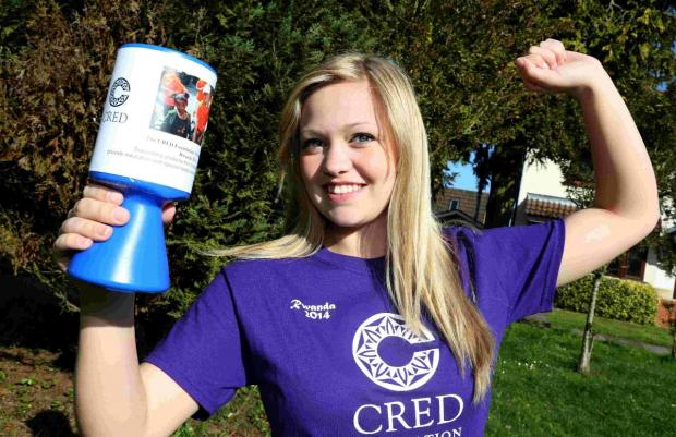 Teenager hoping to make a difference on Rwanda trip