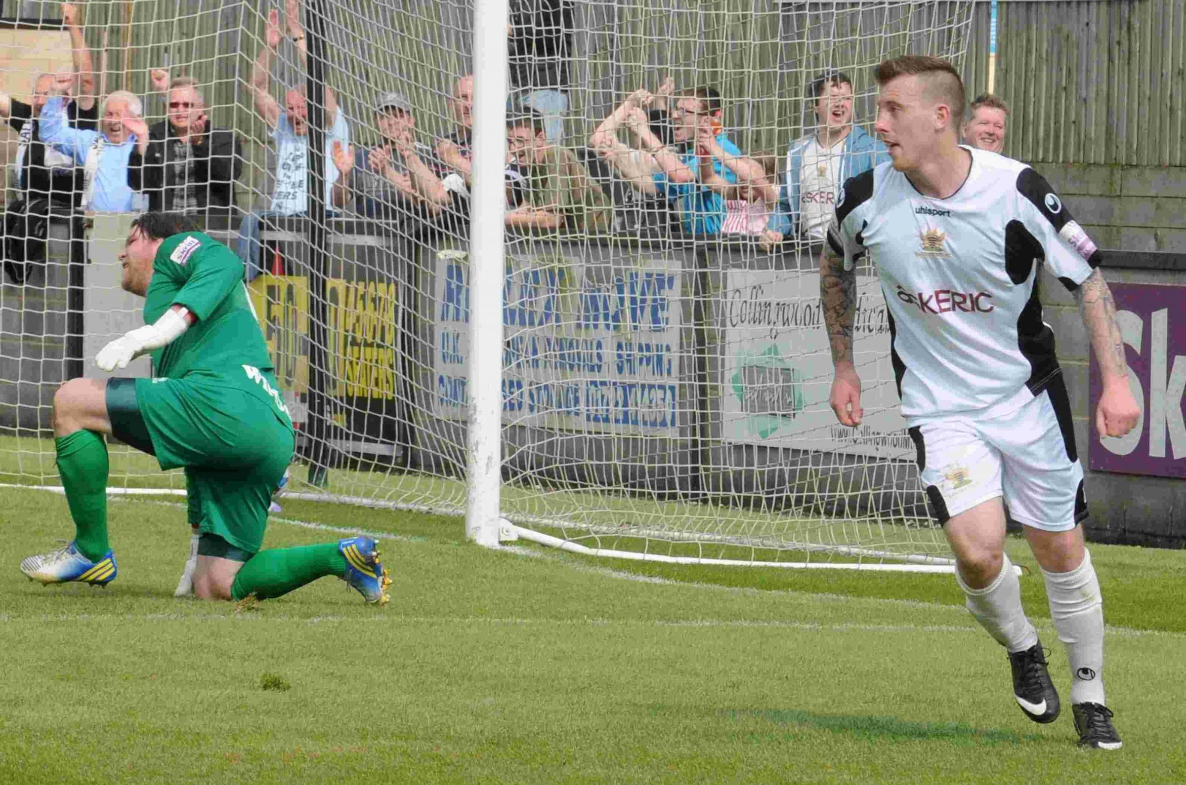 White pounces twice in thumping: SALISBURY CITY 3-0 WELLING UNITED