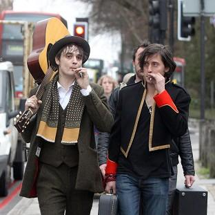 Carl Barat and Pete Doherty could be reforming The Libertines