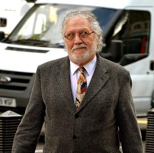 Veteran DJ Dave Lee Travis arrives at Westminster Magistrates Court