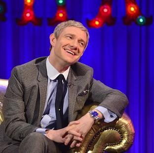Salisbury Journal: Martin Freeman has revealed Sherlock's writers are planning an exciting one-off special (Open Mike)