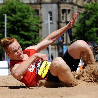 Greg Rutherford set a new British long jump record in San Diego