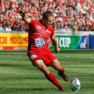 Toulon's fly half Jonny Wilkinson was a relieved man after the match. (AP)