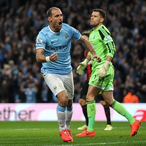 Salisbury Journal: Pablo Zabaleta believes Manchester City are benefiting from the experience of their 2012 title success