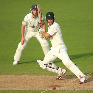 Phil Jaques' 64 helped Nottinghamshire's cause on day two at Trent Bridge