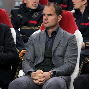 Frank de Boer has been linked with the top job at Totte