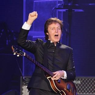 Sir Paul McCartney has played a gig at 2,800 metres above sea level.
